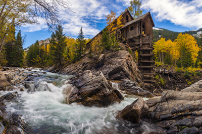 The iconic Crystal Mill