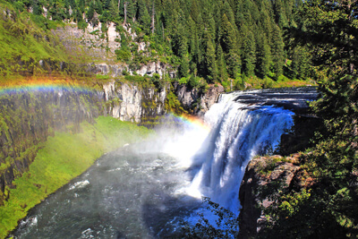 Mesa Falls Scenic Byway