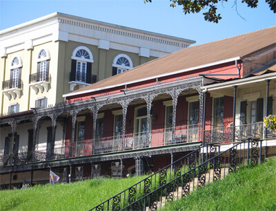 Historic buildings in Natchitoches