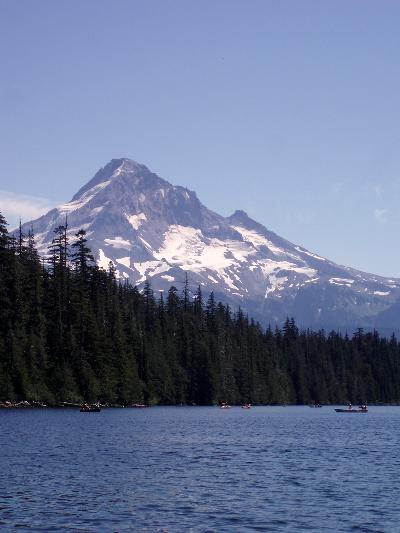 The majestic Mount Hood