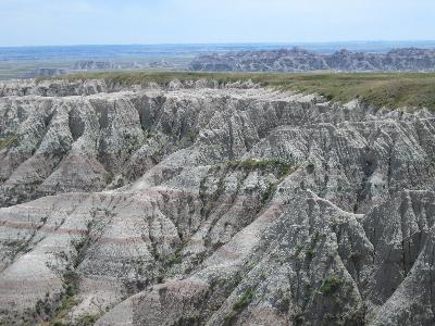 The hills of the Badlands.