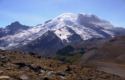 Mt. Rainier from Burroughs Mountain Trail, Sunrise Area