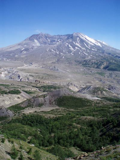 Mount Saint Helens from Johnston Ridge Observatory.